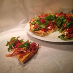 Mine matskriblerier: Blomkålpizza