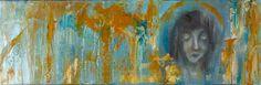"Saatchi Art Artist Cory Basil; Painting, ""Finding Peace"" #art"