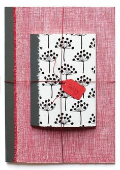 DIY Fabric Notebooks - great gift idea for kids & adults alike!