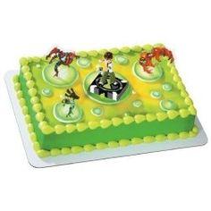 Ben 10 Birthday Cake Ideas & Cupcake Decorating Ideas