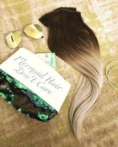 Do all mermaids have long hair?     #mermaidhair #mermaidhairdon'tcare #mermaidstyle #mermaidvibes #imamermaid . . . .  #hairdresser #hairdressermagic #behindthechair #modernsalon #hairartist #licensedtocreate #hairartistry #hairinspo #hairideas #hair #hairpainters #maneaddicts #authentichairarmy #balayagespecialist #thebtcteam #beyondtheponytail #stylistssupportingstylists #hotonbeauty #allaboutdahair #beautylaunchpad #americansalon #hairnerd #allyouneedisgoodhair #hairstyles #extendithair Mane Addicts, Mermaid Hair, Hair Inspo, Hairdresser, Hair Extensions, Cool Hairstyles, Hair Care, Stylists, Long Hair Styles
