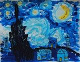 Artsonia Art Exhibit :: Vincent Van Gogh 'Starry Night'