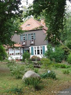 Insel Hiddensee / Germany / Gerhart-Hauptmann-Haus