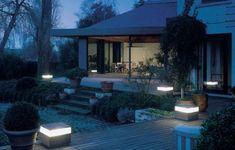 luces de jardin