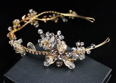 Luxury crystal rhinestone flower bridal hairband wedding hair accessory fashion women's hair decoration birthday party headband-in Hair Jewelry from Jewelry & Accessories on Aliexpress.com | Alibaba Group