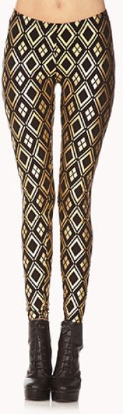 The Golden Ratio inspirations… geo-print leggings
