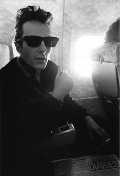 """joe strummer. Note the newspaper/story """"The Basketball Diaries""""...one of my favorite books as a rebellious youth."""