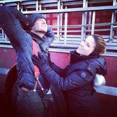 Chicago fire and Chicago Pd Kelly Severide ( Taylor kinney ) and Erin Lindsay (Sophia Bush) #chicagofire #chicagopd