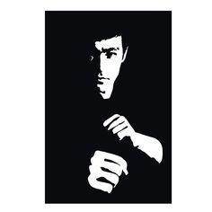 Bruce Lee scroll saw pattern