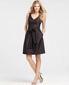 Brown Bridesmaid Dress