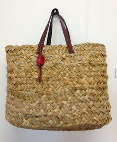 Plaited Rush basket by Karen Lawrence