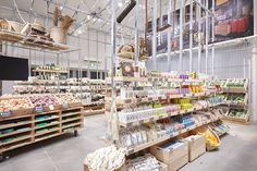 Japanese retail brand MUJI has reopened its global flagship store in Tokyo's Yuracucho neighborhood. The expanded shop includes a fruit and vegetable market