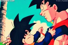abrazos dragon ball - Buscar con Google