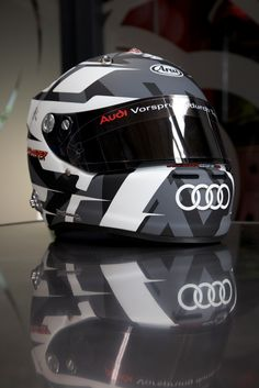 -273, Koop Kustoms, André Lotterer 2014 Audi Helmet