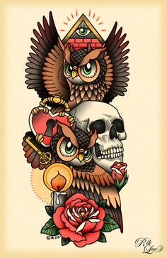 RIK LEE - i WILL embroider this. ONE DAY. when i feel super adventurous lol