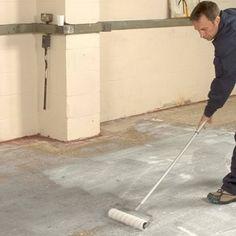 Repair Uneven Concrete with Flowtop® Concrete Resurfacer