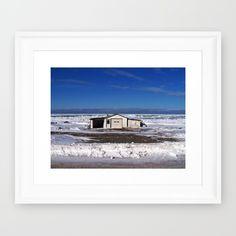 Newly Added  https://society6.com/product/garage-and-the-frozen-sea-sjn_framed-print Follow DanByTheSea www.facebook.com/PhotographybyDanByTheSea