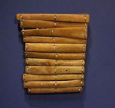 Bone armor from North Alaskan Eskimo at an exhibit in the Glenbow Museum, Calgary, Alberta, Canada. (Wikimedia Commons).