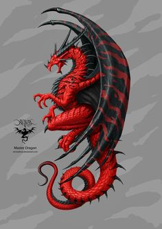 Master dragon, Christos Karapanos - let yourself be fooled! - Master dragon, Christos Karapanos – let yourself be fooled! Celtic Dragon Tattoos, Dragon Tattoo Designs, Dragon Tattoo Colour, Black Dragon Tattoo, Tribal Dragon Tattoos, Wing Tattoos, Dragon Images, Dragon Pictures, Mythical Creatures Art