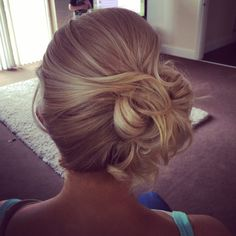 Blonde curled updo Billionhair Bride Hairstyles, Hairdos, Updos, Cool Hairstyles, Blonde Curls, Wedding Attire, Beauty Secrets, Brides, Hair Beauty