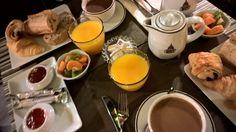 Perfect breakfast: Hotel des grands hommes