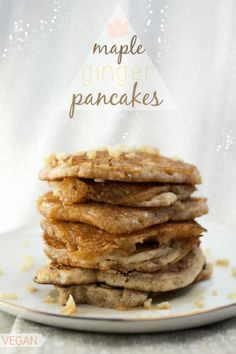 Maple Ginger Pancakes   Produce On Parade