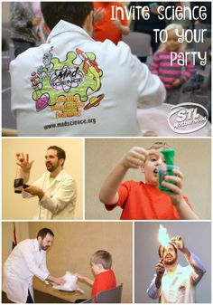 Awesome science party fun!