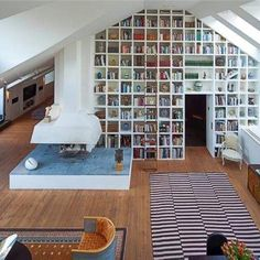 Book shelf- wall