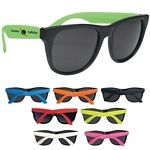 Still an awesome promotional giveaway! Perfect for Weddings and Outdoor events. Promotional Rubberized Promotional Sunglasses | Customized Sunglasses | Promotional Sunglasses