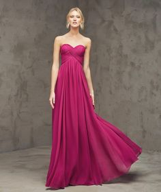 Maternity Sweetheart Floor Length Grape Chiffon A Line Evening Dress Cpr0059