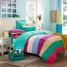 Youthful Dreams Blue Green Cheap Bedding Discount Bedding