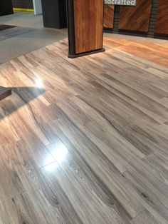 The new Elmhurst laminate in the Restorations Collection. This is from Surfaces. A clear winner, especially for new home construction. Color to be dropped April Laminate Flooring, Hardwood Floors, New Home Construction, Under Stairs, Family Room, Restoration, New Homes, Kitchen, Projects