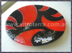 artesanias en vitrofusion PINTEREST - Buscar con Google Fused Glass Plates, Fused Glass Art, Glass Dishes, Glass Vessel, Pottery Designs, Stained Glass Patterns, Pottery Painting, Painted Rocks, Diy And Crafts