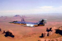 Starfighter and Monument Valley