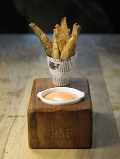 Image result for michelin starred bar snack