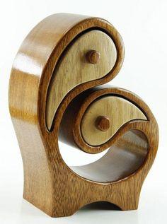 original handmade jewelry wood box by SapperHandcraftedArt