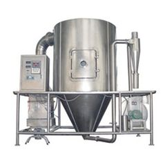 This is the most common process followed for drying many thermally-sensitive materials such as foods and pharmaceuticals.  http://www.furnacesandovens.com/spray-dryer.php