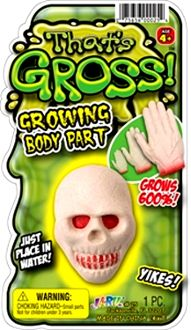 Anatomy Gag Gift-MAGIC GROW SKULL SEVERED HEAD-Growing Body Part-Horror Lab Butcher Chop Shop Decoration Halloween Prop Party Decor - http://www.horror-hall.com/Anatomy-MAGIC-GROW-SKULL-SEVERED-HEAD-Body-Part-Horror-Prop-HH-DT-120527-10039-027-HEAD.htm