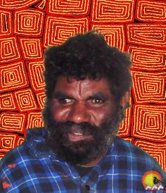 Artist: Thomas Tjapaltjarri | Skin Name: Tjapaltjarri | Born: c.1964 | Region: Kiwirrkurra, Western Desert | Language: Pintupi | Subjects and Themes(Dreaming): Tingari cycle.