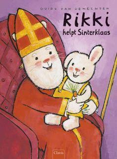 Rikki helpt Sinterklaas - Guido Van Genechten - #prentenboeken #sinterklaas - plaatsnr. K VANG/014
