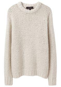 isabel marant oversized chunky knit