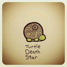 Tortuga estrella de la muerte