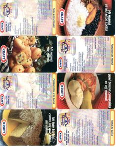 8 Phonecard / Tarjeta Telefonicas Venezuela  Publicidad KRAFT