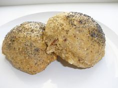 Glutenfri boller med mandler Gluten Free Buns, Vegan Bread, Muffin, Baking, Breakfast, Desserts, Training, Cakes, Food