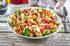 Salade de figues et gnocchis (entre autres)