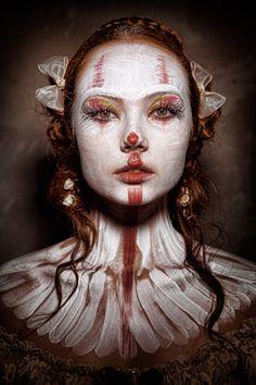 Eolo Perfido - Clownville / Columbine #2 - Makeup: Valeria Orlando - Styling Annabelle Vilda