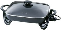 Presto Electric Skillet 1500 W 16 In. Cast Aluminum, Non-Stick Inside