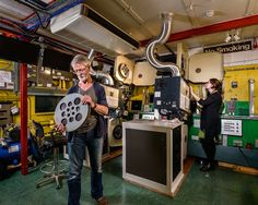 Keeping it reel: the dying art of the film projectionist – in pictures