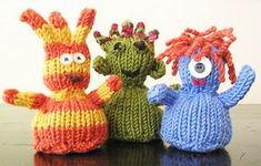 Pocket Creatures - Knitty: editorial win 05