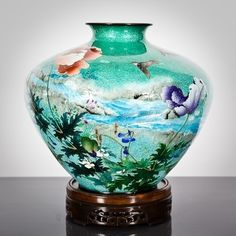 115 Best Japanese Cloisonne Maker Marks Images In 2018 Japanese Makers Mark Vase
